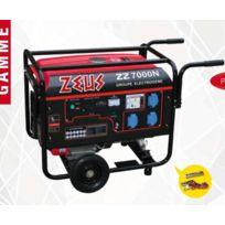 Zeus - Groupe électrogène 4 temps 5500W avec Avr puissant et maniable Z7000N