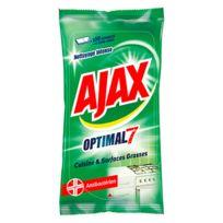 Ajaxx63 - Lingettes cuisine Ajax Optimal 7 - Paquet de 50