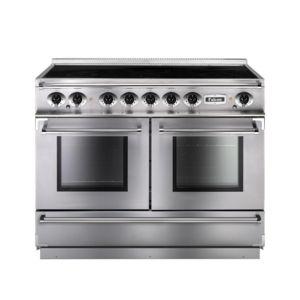 falcon cuisiniere 110cm fcon1092eis induction 5foyers 2 fours elec inox chrome achat vente. Black Bedroom Furniture Sets. Home Design Ideas