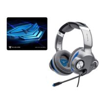 EASARS - PACK Casque Gaming 5.1 TRAP + Tapis de souris sand-table