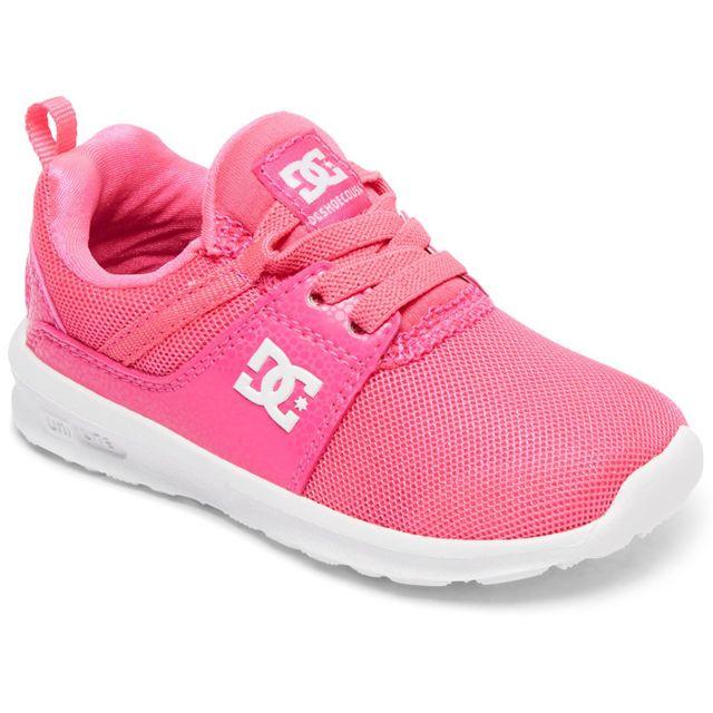 Dc - Shoes Heathrow Chaussure Bébé Fille - Taille 21.5 - Rose - pas cher  Achat   Vente Chaussures, chaussons - RueDuCommerce 7d3da75d9e95