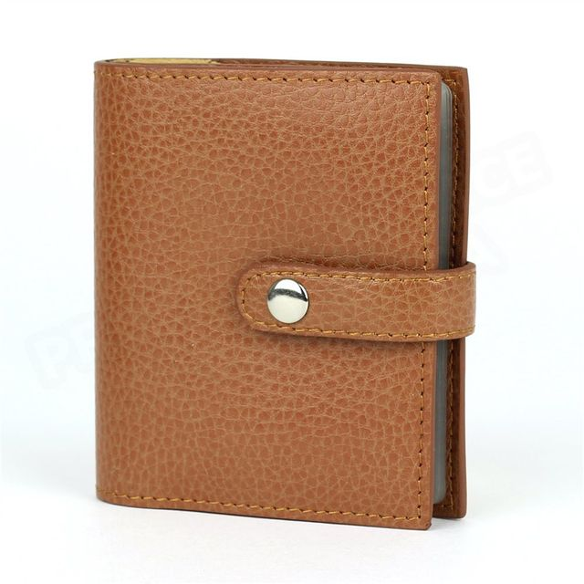 Volumica - Porte 24 cartes cuir Gold Beaubourg - pas cher Achat   Vente  Porte-cartes - RueDuCommerce 5d6f0ab57bf