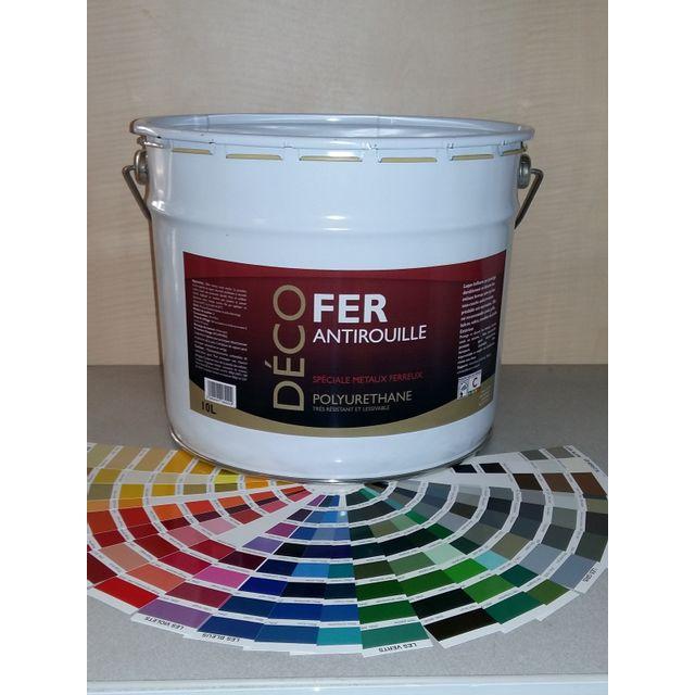 icopeint peinture glyc ro satin deco fer jaune pastel ral 1034 10l chez rue du commerce. Black Bedroom Furniture Sets. Home Design Ideas