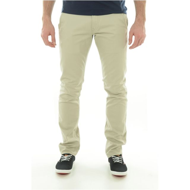 0040036287132 Guess - Pantalons Jeans Homme M44b00w5zj0 Les Beiges - 38 32 - pas cher  Achat   Vente Pantalon homme - RueDuCommerce