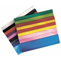 Maildor - papier crepon ordinaire 200x50 vert empire - paquet de 10