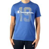 Champion - Tee Shirt Tee 211392-BVU Bleu
