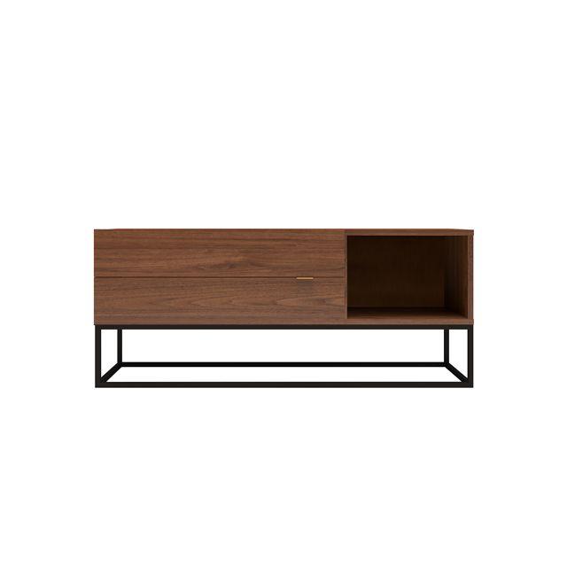 tout neuf e6baf f10ce Meuble Tv Urban 120cm 2 tiroirs / Noyer