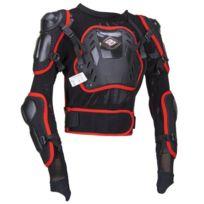 Shot Race Gear - Shot Gilet de Protection Cross Optimal Noir