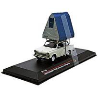 Ist Models - Ist188 - VÉHICULE Miniature - ModÈLE À L'ÉCHELLE - Trabant 601 - Avec Tente De Toit - Echelle 1/43