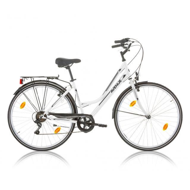 "Descheemaker - Vélo Dame Avenue 28"" 6 Vit. Blanc 2017"