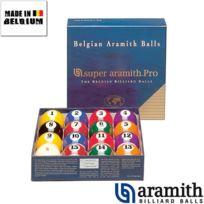 Aramith - Billes Américaines Super Pro 57 mm