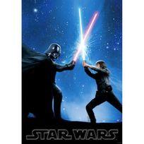 Graham & Brown - Star Wars Tableau déco impression sur verre 70x100 cm bleu