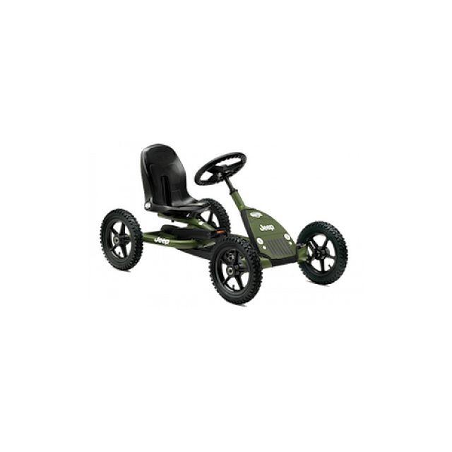 berg toys kart p dales berg jeep junior pedal go kart green pas cher achat vente. Black Bedroom Furniture Sets. Home Design Ideas