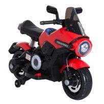 Scooter Noir Cm 6v X Électrique Amovibles Musicaux Usb Ports 65h Led Moto 60l Roulettes Effets Mp3 Rouge 120l Enfants hrBtdCosQx