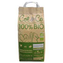 Cot&CO - Gasco - Alimentation Bio pour Volailles 1er Âge - 5Kg