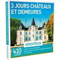 Smartbox - 3 jours châteaux et demeures - 410 séjours partout en France ou en Europe : châteaux, manoirs, belles demeures, domaines et hôtels de charme - Coffret Cadeau