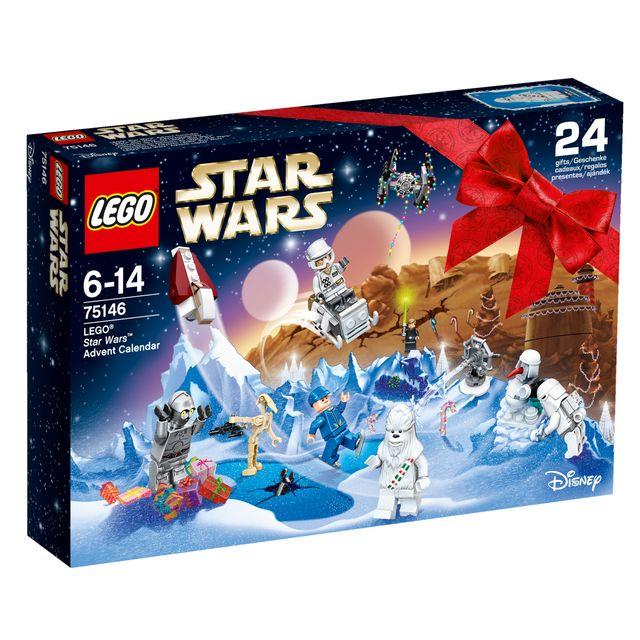 Lego Calendrier.Star Wars Calendrier De L Avent 75146