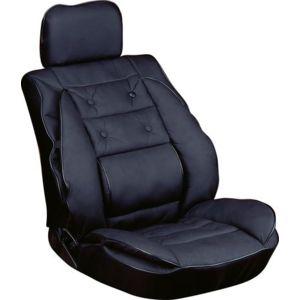 carpoint coussin de siege voiture avec appui dos pas cher achat vente am nagement. Black Bedroom Furniture Sets. Home Design Ideas