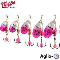 Mepps - Cuiller Aglia-e Argent Rose