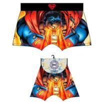 Marvel Comics - Dc Comics Boxer Homme Microfibre Superman Rouge Bleu