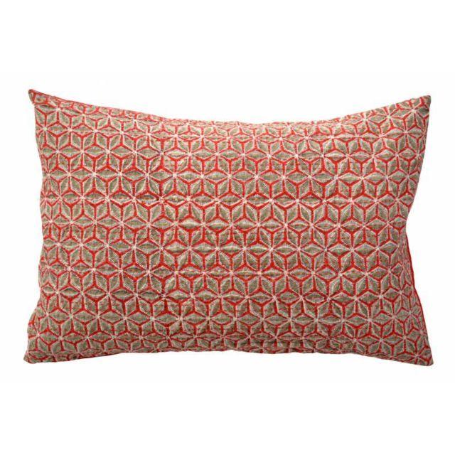zen ethic housse de coussin 40x60 starflower coton. Black Bedroom Furniture Sets. Home Design Ideas