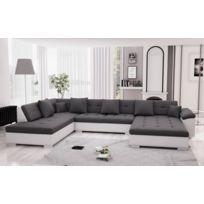 salon moderne tissus angle bient t les soldes salon. Black Bedroom Furniture Sets. Home Design Ideas