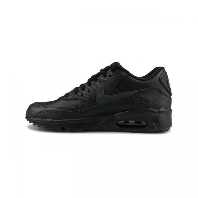 Nike Basket Air Max 90 Leather Junior 833412 022 pas