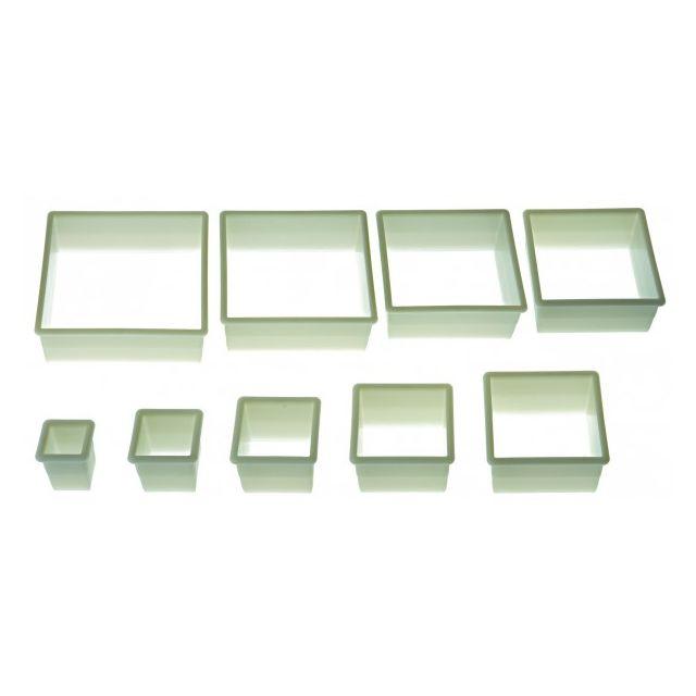 SILIKOMART lot de 9 emporte-pièces carrés - 72.304.87.0069