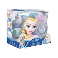 Imc Toys - Tête à coiffer Elsa La Reine des Neiges - Wdk