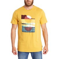 Billabong - T-shirt Moonrise-Abel - Bright Gold