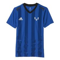 Adidas performance - T-shirt Messi Icon Bleu T-shirts Manches Courtes Enfant Multisports