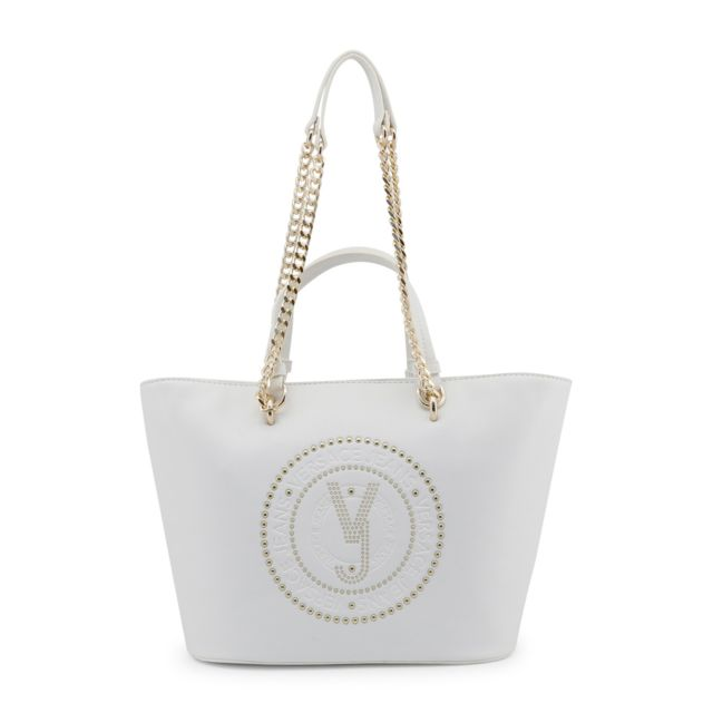 Buzzao - Sac à main blanc détail bandoulière femme - Versace Jeans ... 5cc07aa978a