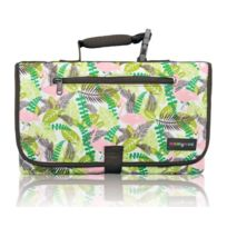 Momymoo - Zoe On-the-go Wickeltasche, Pink Flamingo