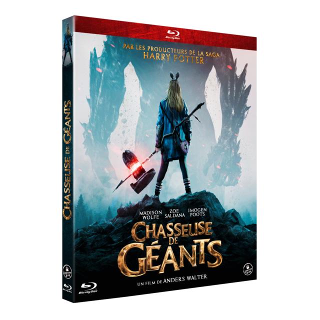 WARNER BROS Blu-Ray CHASSEUSE DE GEANTS