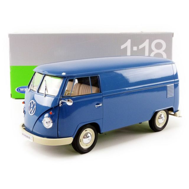 welly 1 18 volkswagen combi t1 bus panel van 1963. Black Bedroom Furniture Sets. Home Design Ideas