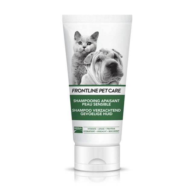 Frontline Pet Care Chiens/Chats Shampoing Apaisant Peau Sensible