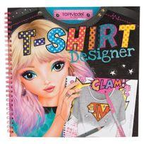 Top Model - Album de coloriage styliste Designer Book T-shirt