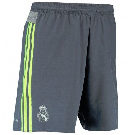 Adidas originals - Real A Sho Gry - Short Football Real Madrid Homme Adidas.  Couleur   Gris b441aca67da