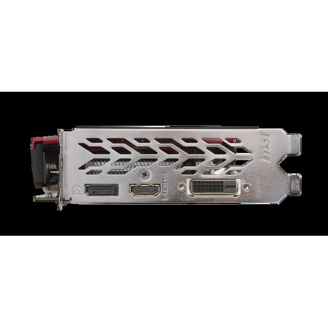 MSI - GeForce GTX 1050 GAMING X 2Go DDR5