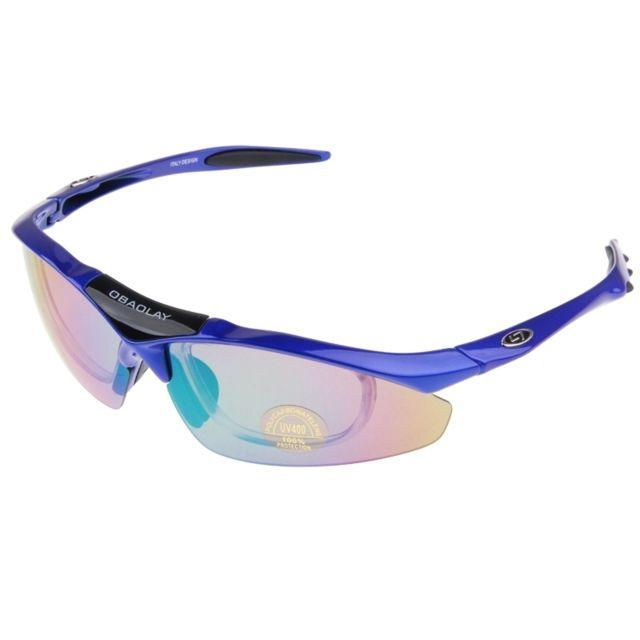 Wewoo - Pour les sports de plein bleu air Uv400 Protection Lunettes de  soleil 1505e089a18a