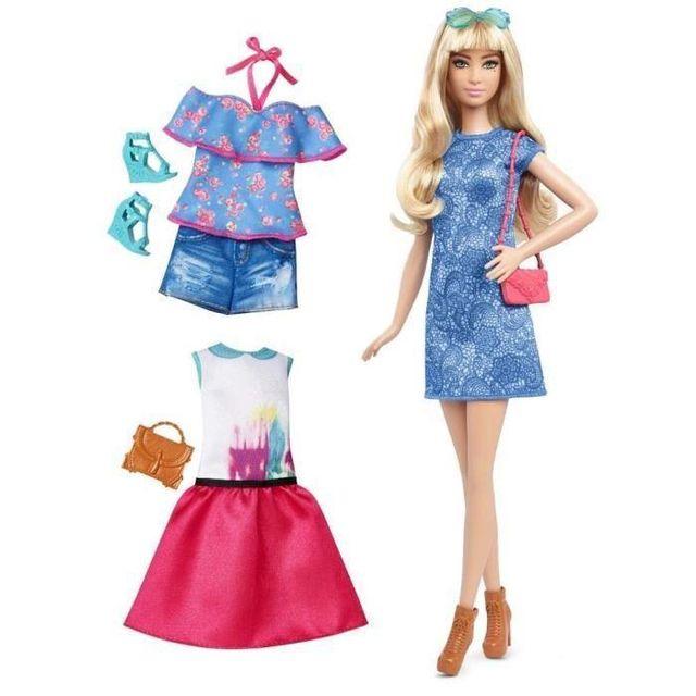 Mattel - Barbie - Fashionistas Tenue 43 - pas cher Achat   Vente ... 02d0df2cf789