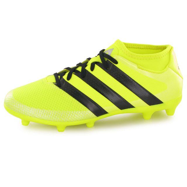 Adidas performance - Ace 16.3 Prime Fg jaune, chaussures de football enfant 36 2/3 - pas cher Achat / Vente Chaussures foot - RueDuCommerce