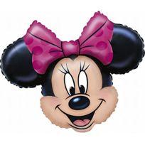 Amscan International - Ballon TÊTE De Minnie Non Gonfl