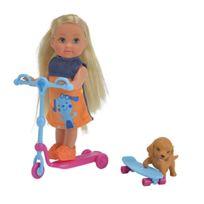 ToyCentre - Simba Evi Love Scooter Fun Fashion Dolls