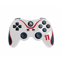 SUBSONIC - MANETTE SANS FIL FOOTBALL BLANCHE - PS3