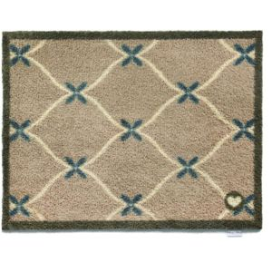 hug rug tapis en fibres naturelles home cadrillage beige pas cher achat vente paillasson. Black Bedroom Furniture Sets. Home Design Ideas