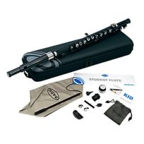 Nuvo - Student Flute Black/Silver