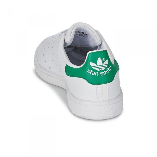 Adidas originals - Chaussures Stan Smith Blanc/Vert Jw