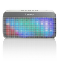 "Lenco - Enceinte Bluetooth stéréo portable ""BT-200 Light"" gris"