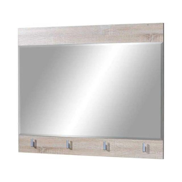 Germania Miroir de couloir Maxima 88x73x3 cm Chêne Sonoma